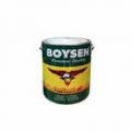 BOYSEN PERMACOAT FLAT LATEX B-701 WHITE 4 Liters