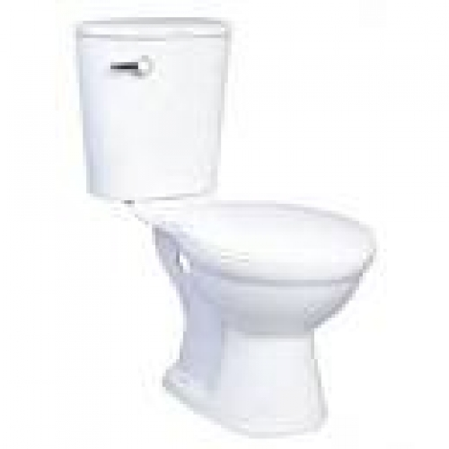 ROYAL TERN SPARROW WATERCLOSET WHITE (LEVER TYPE) WITH SEATCOVER