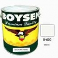 BOYSEN QUICK DRYING ENAMEL  B-600 WHITE 4Liters