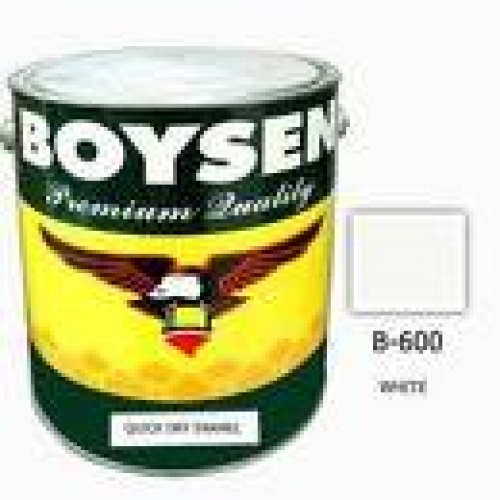 BOYSEN QUICK DRYING ENAMEL  B-600 WHITE 16LITERS